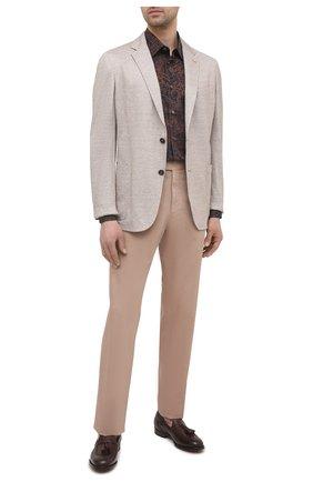 Мужские кожаные лоферы OFFICINE CREATIVE бордового цвета, арт. IVY/001/AER0 CANY0N | Фото 2