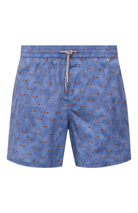 Мужские плавки-шорты LORO PIANA синего цвета, арт. FAL6416 | Фото 1