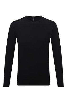 Мужской хлопковый джемпер TRANSIT черного цвета, арт. CFUTRN7420 | Фото 1