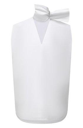 Женский хлопковый топ JIL SANDER белого цвета, арт. JSWS566805-WS244200 | Фото 1