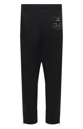Мужские хлопковые брюки MAISON MARGIELA темно-серого цвета, арт. S50KA0552/S25508 | Фото 1