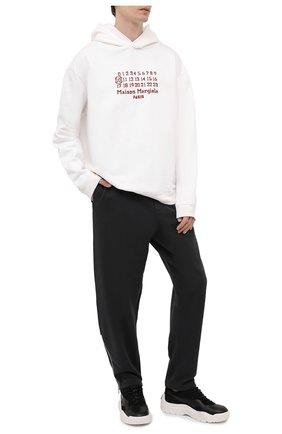 Мужские хлопковые брюки MAISON MARGIELA темно-серого цвета, арт. S50KA0552/S25508 | Фото 2