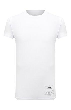 Мужская хлопковая футболка MAISON MARGIELA белого цвета, арт. S50GC0644/S23911 | Фото 1