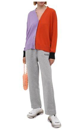 Женские брюки GANNI серого цвета, арт. T2774 | Фото 2