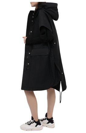 Женские кожаные кроссовки y-3 kaiwa Y-3 белого цвета, арт. FZ4326/W | Фото 2