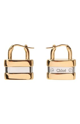 Женские серьги colleen CHLOÉ золотого цвета, арт. CHC20SFE35CB7 | Фото 1