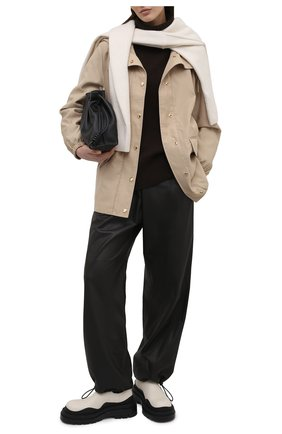 Женская ветровка BURBERRY бежевого цвета, арт. 8041278   Фото 2