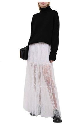 Женская юбка ERMANNO FIRENZE белого цвета, арт. D38ET GN15PIZ | Фото 2