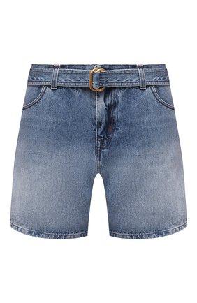 Женские джинсовые шорты TOM FORD голубого цвета, арт. SHD003-DEX111 | Фото 1