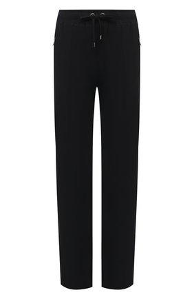 Женские брюки из  вискозы DOLCE & GABBANA черного цвета, арт. FTA65T/G7RNY | Фото 1