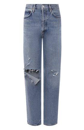 Женские джинсы AGOLDE синего цвета, арт. A154B-1141   Фото 1
