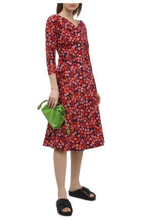 Женское хлопковое платье MARNI разноцветного цвета, арт. ABMA0668A0/UTCZ54 | Фото 2