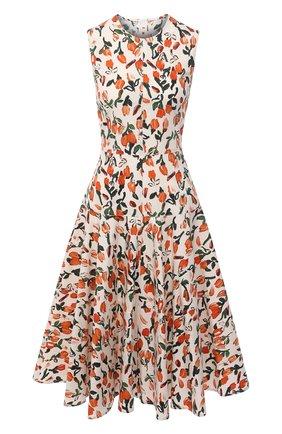 Женское хлопковое платье MARNI разноцветного цвета, арт. ABMAT60M00/UTCZ98 | Фото 1