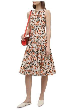 Женское хлопковое платье MARNI разноцветного цвета, арт. ABMAT60M00/UTCZ98 | Фото 2