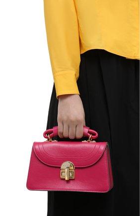 Женская сумка julliette small MARNI фуксия цвета, арт. BMMP0043Y0/P2644 | Фото 2