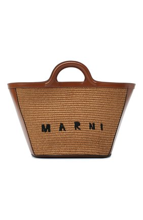 Женская сумка tropicalia small MARNI коричневого цвета, арт. BMMP0068Q0/P3860 | Фото 1