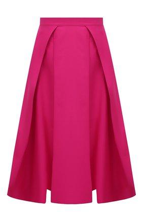 Женская хлопковая юбка MARNI фуксия цвета, арт. G0MA0352A0/UTCZ56   Фото 1