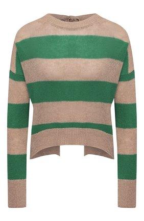 Женский пуловер из шерсти и кашемира MARNI зеленого цвета, арт. GCMD0245Q0/UFZ762 | Фото 1
