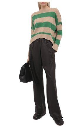 Женский пуловер из шерсти и кашемира MARNI зеленого цвета, арт. GCMD0245Q0/UFZ762 | Фото 2