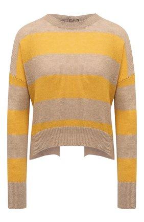 Женский пуловер из шерсти и кашемира MARNI желтого цвета, арт. GCMD0245Q0/UFZ762 | Фото 1