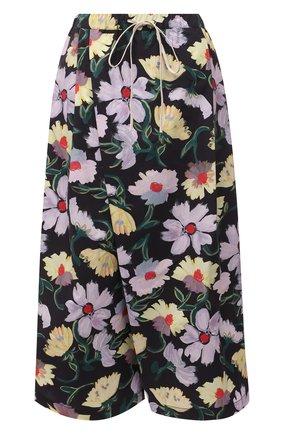 Женские хлопковые брюки MARNI разноцветного цвета, арт. PAMA0074A0/UTCZ96 | Фото 1