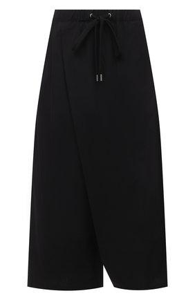 Женские хлопковые брюки MARNI черного цвета, арт. PAMA0074A1/TCY67 | Фото 1