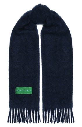 Женский шарф MARNI синего цвета, арт. SCMC0055Y0/USCR17 | Фото 1