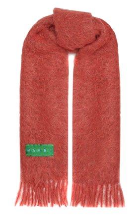 Женский шарф MARNI розового цвета, арт. SCMC0055Y0/USCR17 | Фото 1