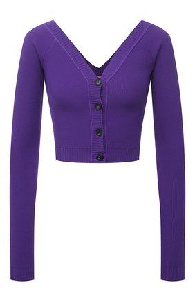 Женский кардиган N21 фиолетового цвета, арт. 21E N2S0/A008/7579 | Фото 1