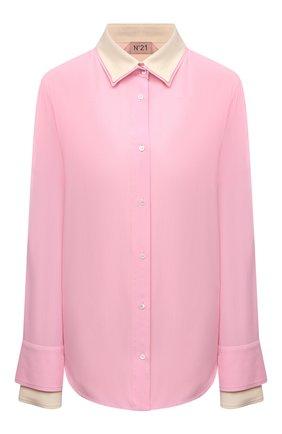 Женская рубашка N21 светло-розового цвета, арт. 21E N2M0/G032/5111   Фото 1