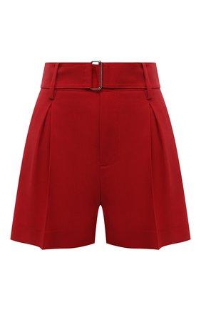 Женские шерстяные шорты N21 красного цвета, арт. 21E N2M0/D021/3133 | Фото 1