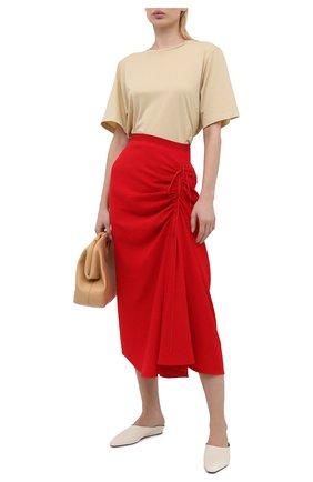 Женская юбка N21 красного цвета, арт. 21E N2M0/C051/5080 | Фото 2