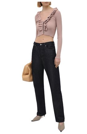 Женский кардиган из вискозы N21 светло-розового цвета, арт. 21E N2M0/A031/7569   Фото 2
