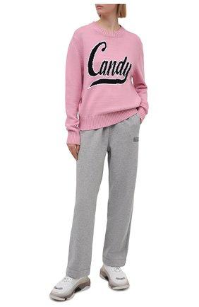 Женский свитер N21 розового цвета, арт. 21E N2M0/A001/7523   Фото 2