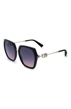 Женские солнцезащитные очки VALENTINO голубого цвета, арт. 4081-5001I6   Фото 1