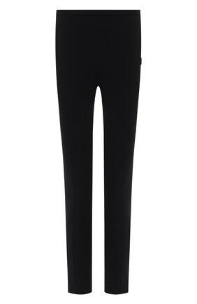 Женские брюки из вискозы THE ROW черного цвета, арт. 5630W1925 | Фото 1 (Материал внешний: Вискоза; Стили: Кэжуэл; Женское Кросс-КТ: Брюки-одежда; Силуэт Ж (брюки и джинсы): Узкие; Длина (брюки, джинсы): Укороченные)