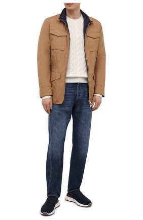 Мужская двусторонняя куртка BRUNELLO CUCINELLI светло-коричневого цвета, арт. MW4386495 | Фото 2