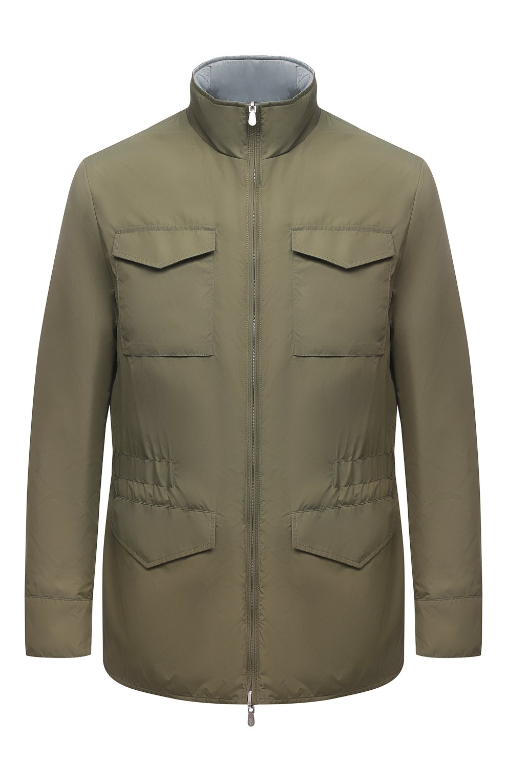 Мужская двусторонняя куртка BRUNELLO CUCINELLI хаки цвета, арт. MW4386495 | Фото 1