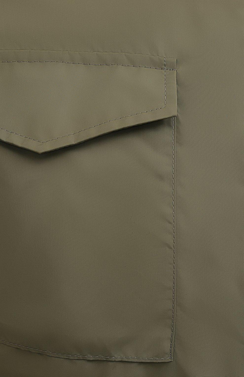 Мужская двусторонняя куртка BRUNELLO CUCINELLI хаки цвета, арт. MW4386495 | Фото 5