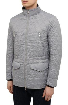 Мужская двусторонняя куртка BRUNELLO CUCINELLI хаки цвета, арт. MW4386495 | Фото 6