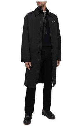 Мужской шерстяной свитер TOM FORD темно-синего цвета, арт. BWM2N/TFK125 | Фото 2