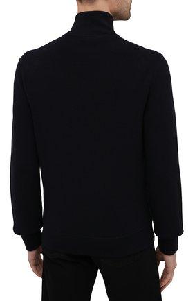 Мужской шерстяной свитер TOM FORD темно-синего цвета, арт. BWM2N/TFK125 | Фото 4