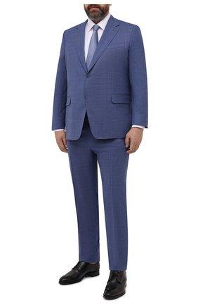 Мужская хлопковая сорочка ETON белого цвета, арт. 1000 02156 | Фото 2 (Материал внешний: Хлопок; Рукава: Длинные; Длина (для топов): Стандартные; Случай: Формальный; Воротник: Кент; Манжеты: На пуговицах; Стили: Классический; Принт: Однотонные; Рубашки М: Regular Fit; Big sizes: Big Sizes)