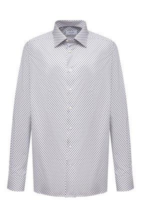 Мужская хлопковая сорочка ETON серого цвета, арт. 1000 02235 | Фото 1