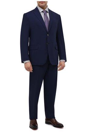 Мужская хлопковая сорочка ETON серого цвета, арт. 1000 02235 | Фото 2
