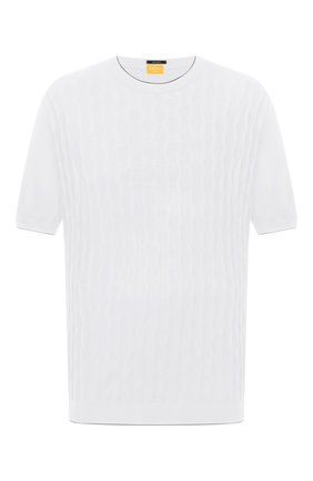 Мужской хлопковый джемпер SVEVO белого цвета, арт. 82165SE21L/MP0002 | Фото 1