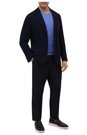 Мужской хлопковый джемпер SVEVO голубого цвета, арт. 82165SE21L/MP0002 | Фото 2