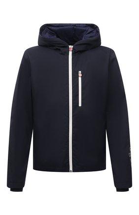 Мужская комплект из куртки и жилета KITON темно-синего цвета, арт. UW0939V07T96 | Фото 1