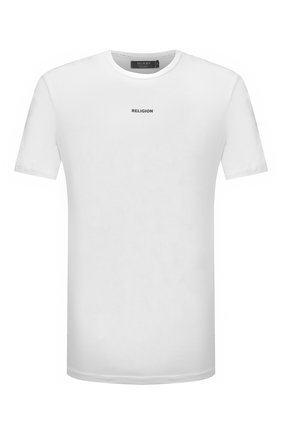 Мужская хлопковая футболка RELIGION белого цвета, арт. 11BPBN96 | Фото 1