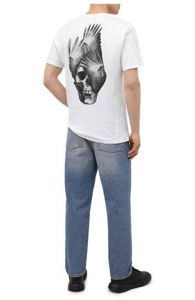 Мужская хлопковая футболка RELIGION белого цвета, арт. 11BPBN96 | Фото 2